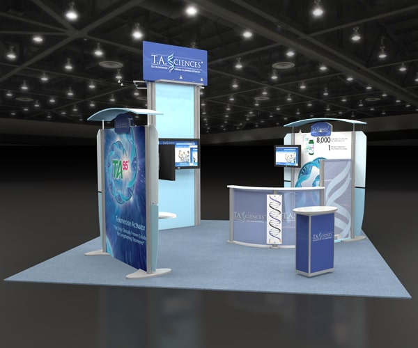 make your own trade show booth display
