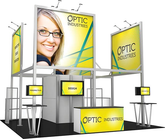 custom 20X20 trade show event booth display PA