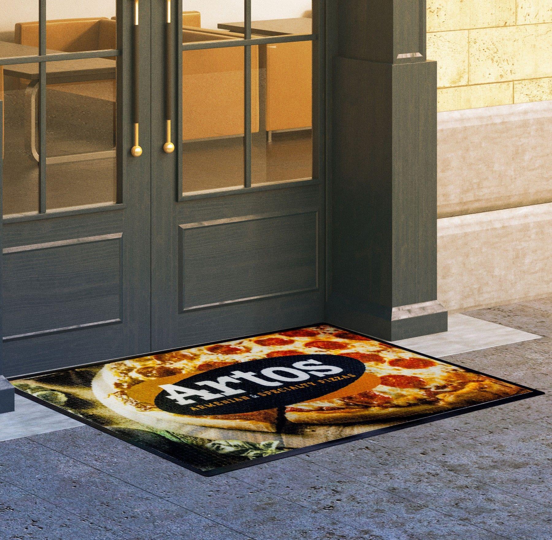 custom printed HD indoor/outdoor doormats