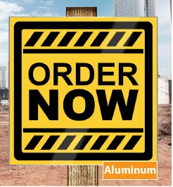 aluminum sign printing DC NYC