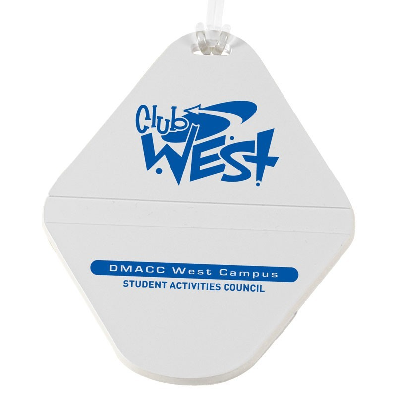 cheap golf bag tag diamond