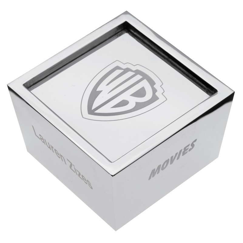 custom cube paperweight