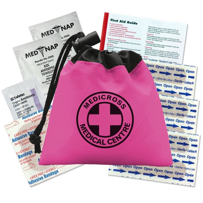 custom printed logo first aid kit