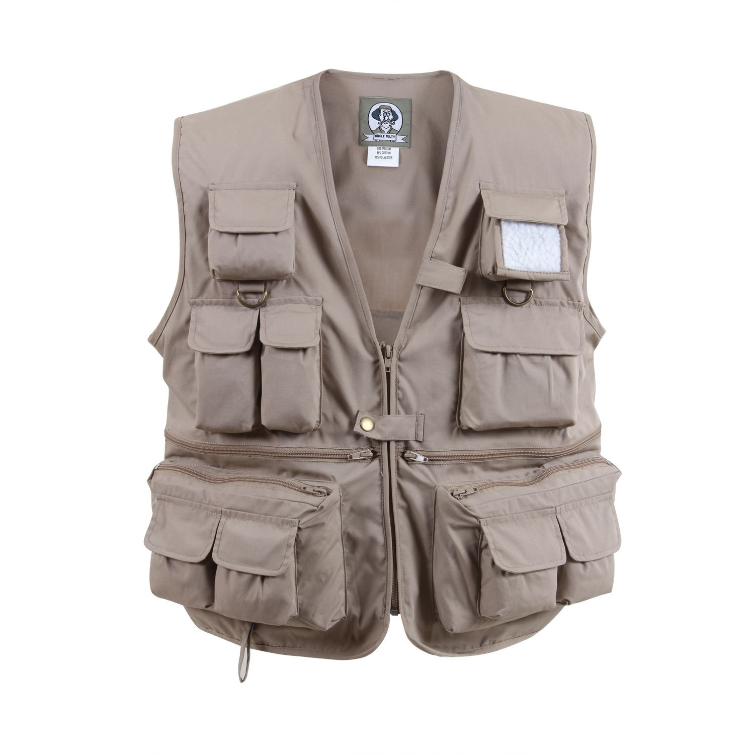 branded fishing vest safari vest