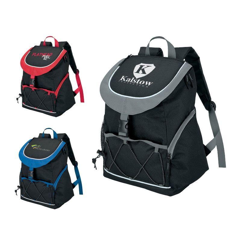 custom printed promotional backpack cooler