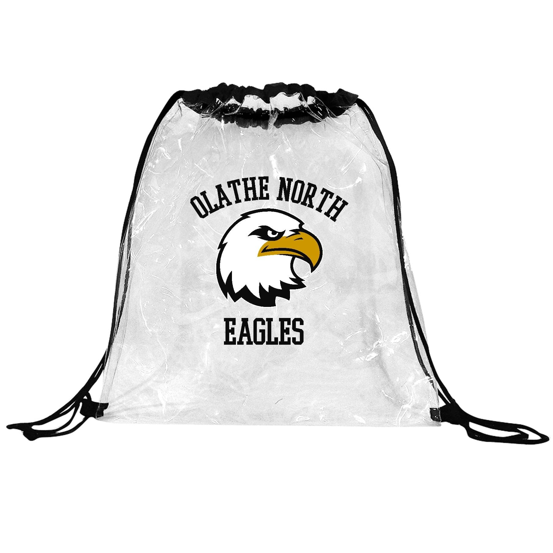 custom printed clear bag with logo stadium requirement