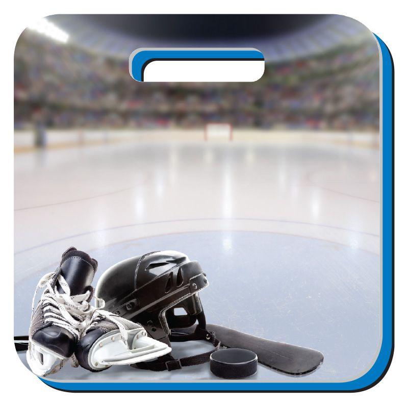 custom graphic hockey stadium cushion