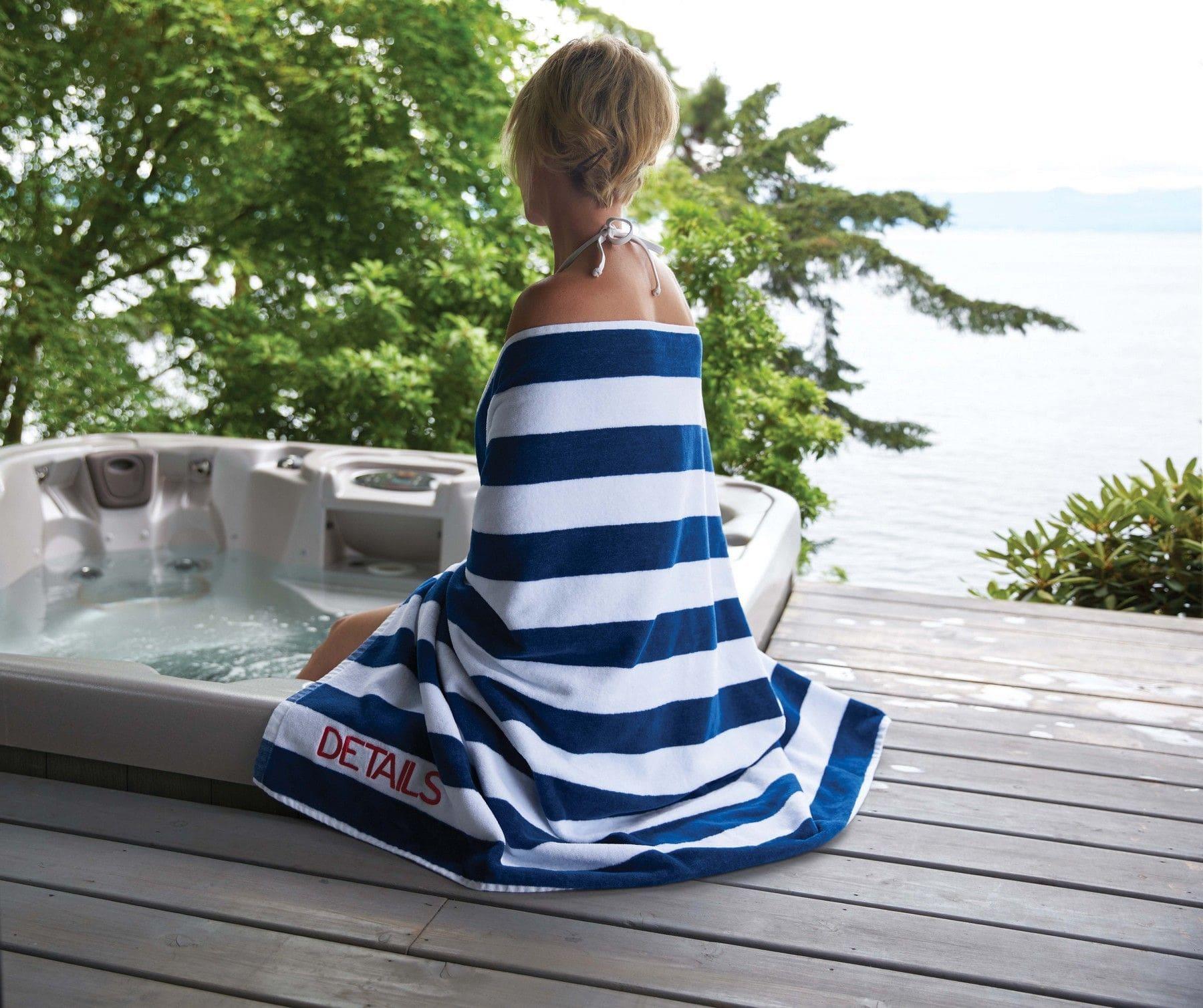 custom printed promotional beach towels