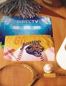 custom printed full color graphic towels