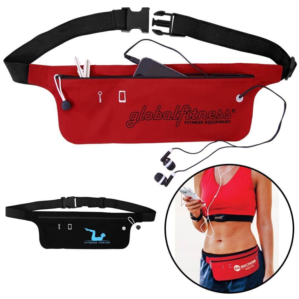 custom printed fitness belt