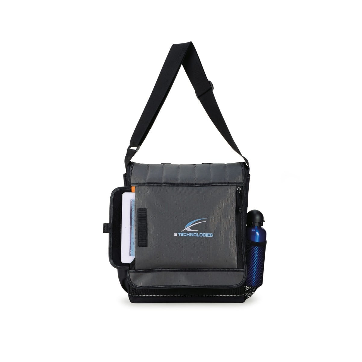 custom printed laptop messenger bag with logo