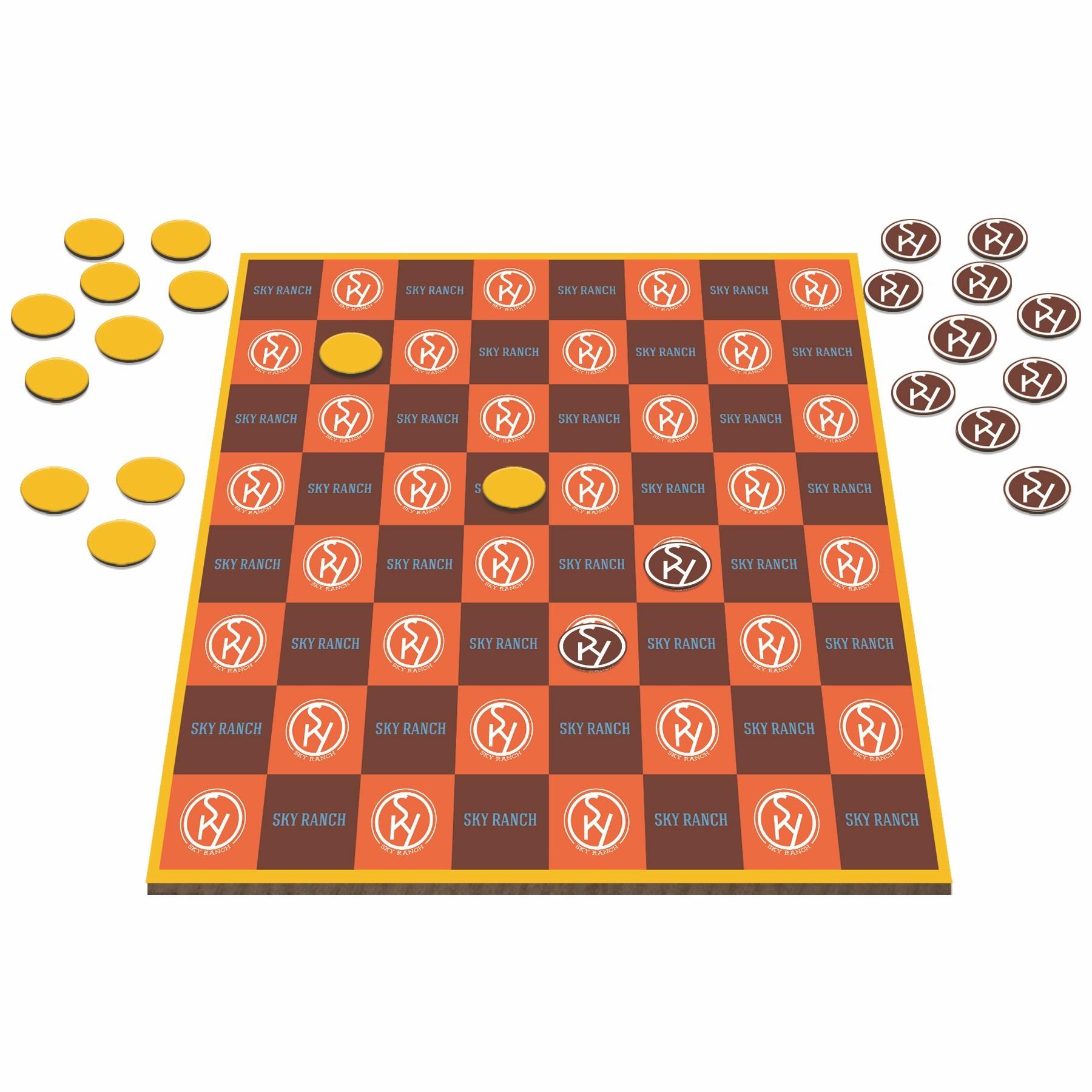 custom-logo-checkers-game