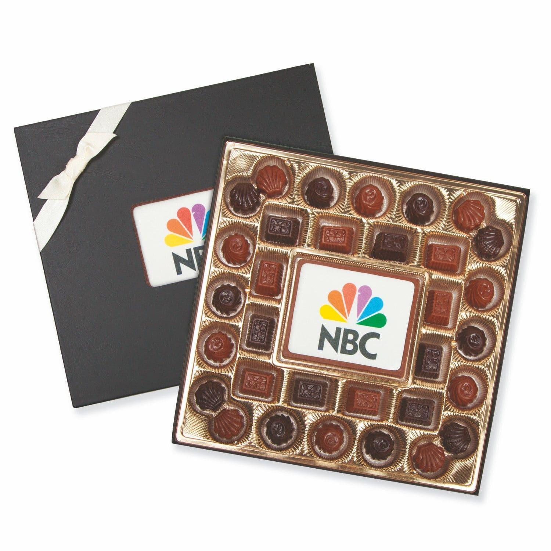 custom printed chocolate gift set