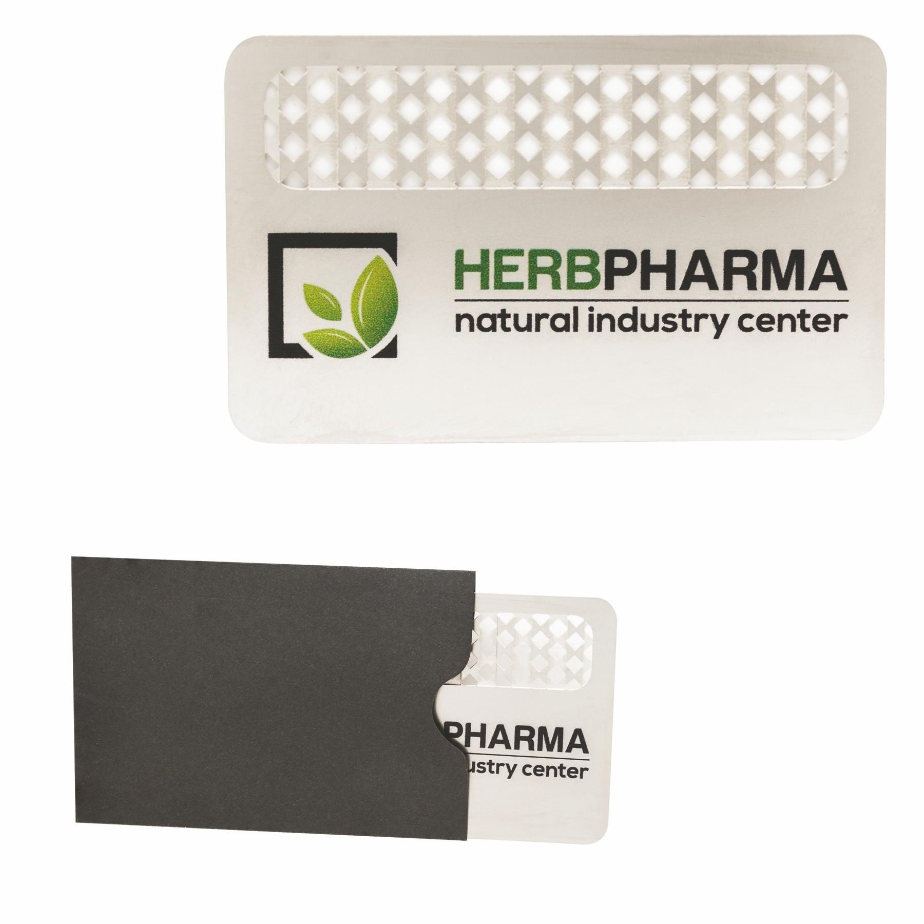 custom printed grinder card