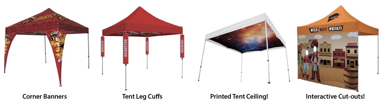 design a custom event tent