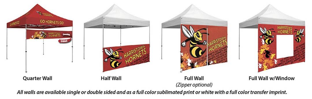 create a custom event tent