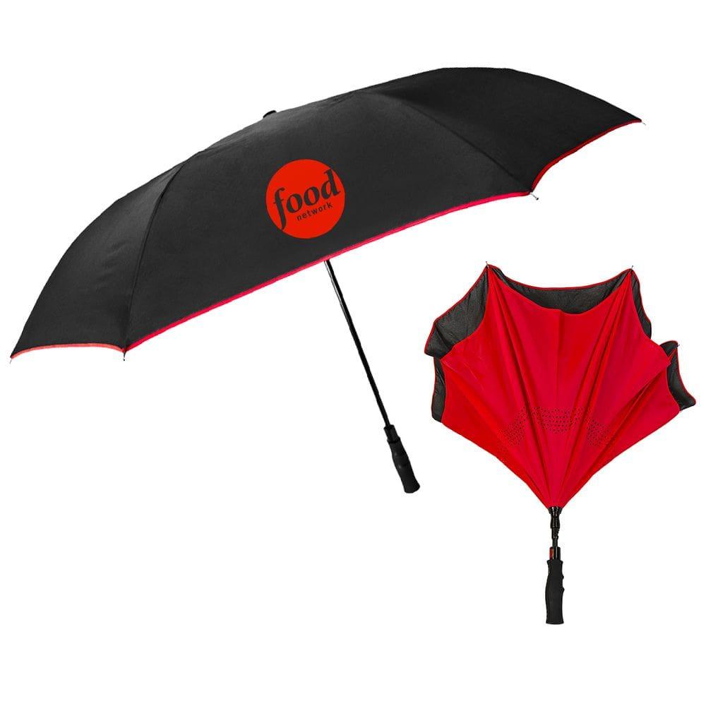 custom printed inversa umbrella