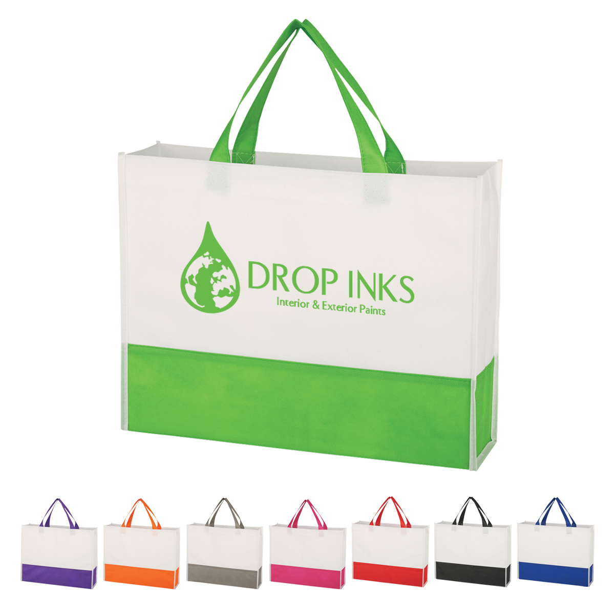 tote bag- inexpensive- giveaway- local- tradeshow- eXpobranders