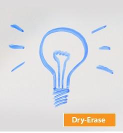 custom dry erase promotional graphic