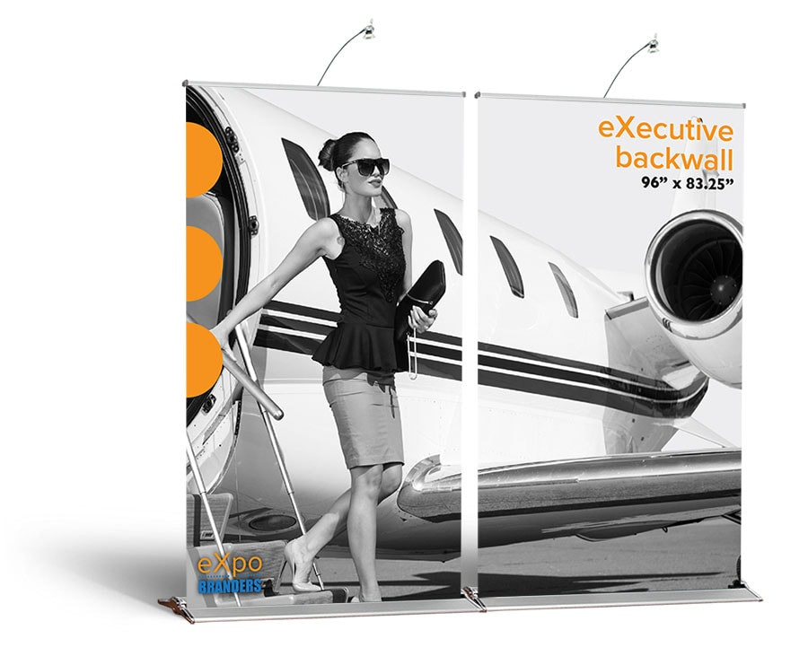 pull up banner wall for event DC VA NYC