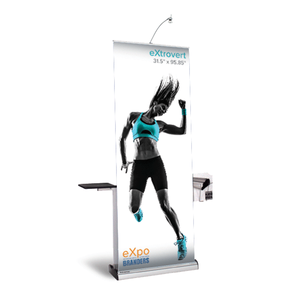 double side banner stand VA DC NYC