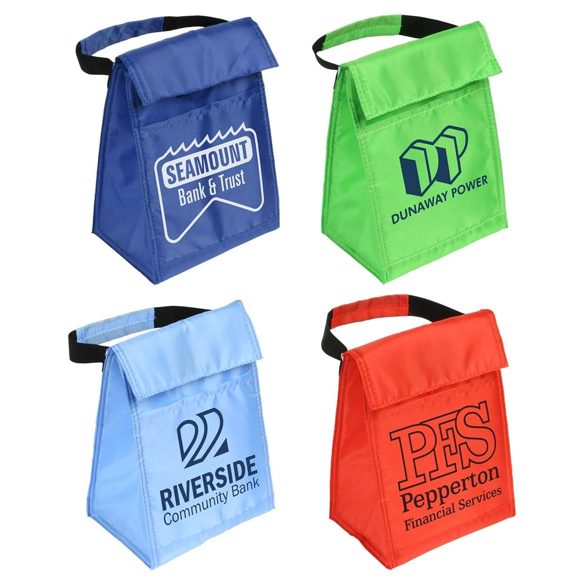 custom printed lunch bag with logo wholesale