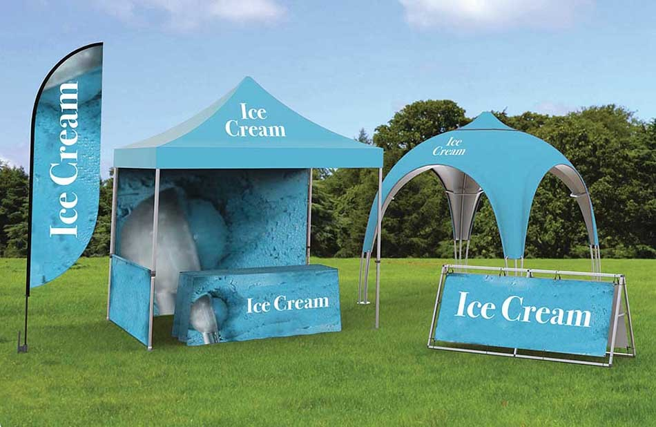 portable custom outdoor event tent