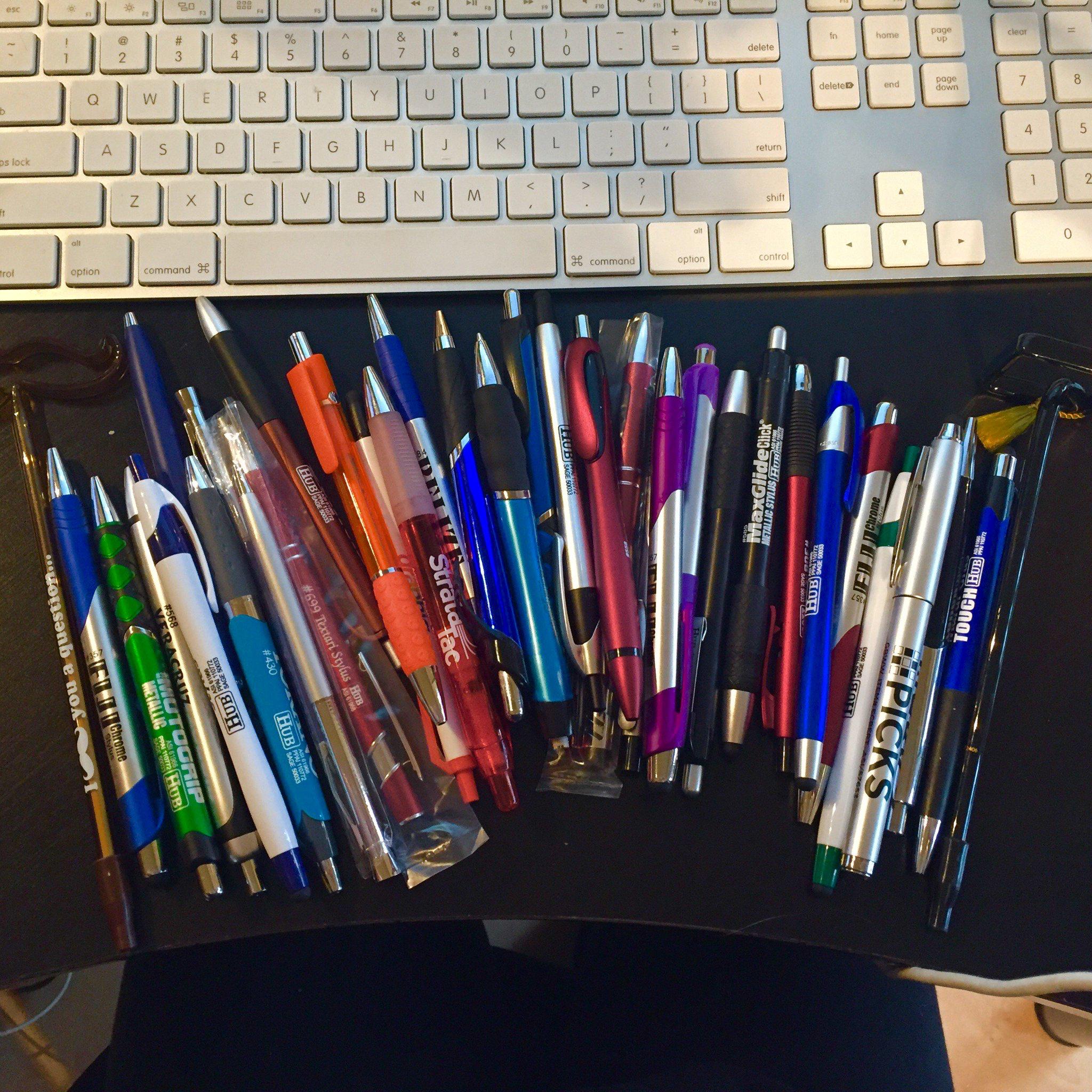 pens- inexpensive- trade show- giveaway- local- VA- eXpobranders