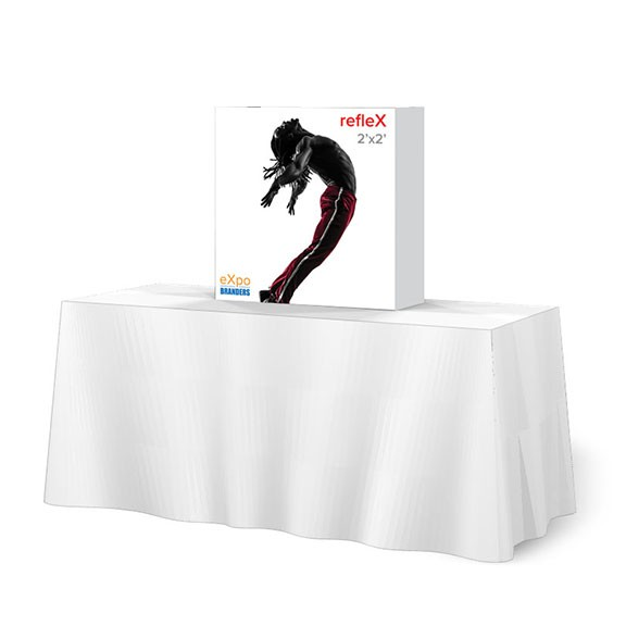 pop up table top display 2ft