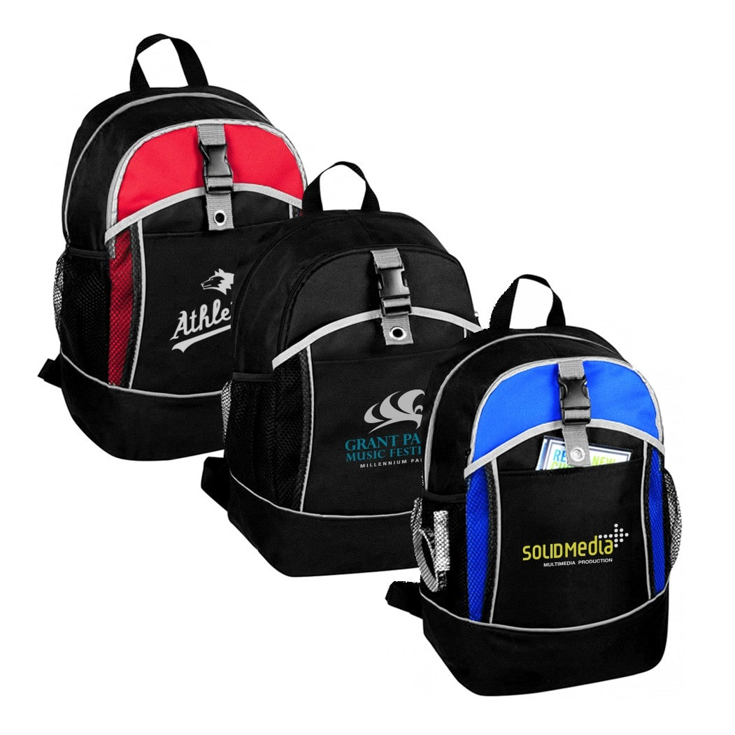 custom printed school backpack with logo