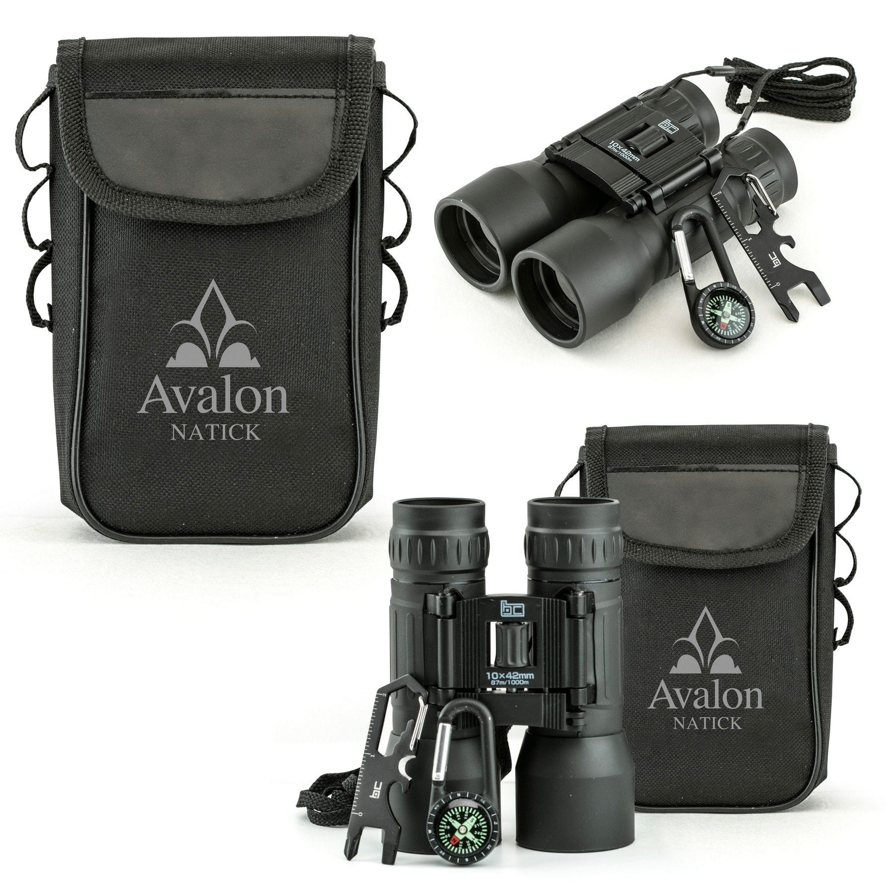 very nice custom printed binoculars